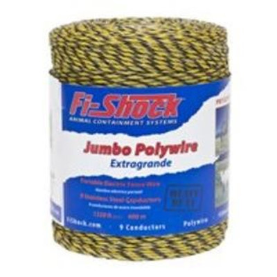 Electric Fence 9 Strand Polywire, 1320', Plastic