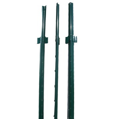 Fence U Post, 6', Green Heavy Duty