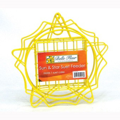 Hiatt Model 50268, Sub & Star Suet Feeder, Yellow