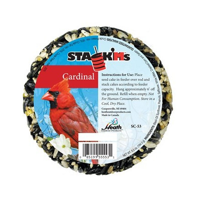 Heath Stack'Ms Cardinal Seed Cake, 7 Oz