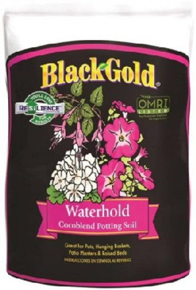 Black Gold Waterhold Cocoblend Potting Soil 8 Qt