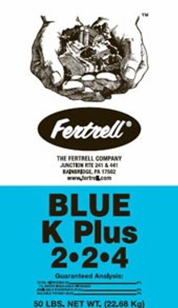 Fertrell Blue-K-Plus, Organic Fertilizer, 2-2-4, 50 Lb