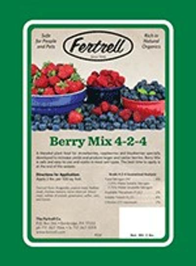 Fertrell Berry Mix Organic Fertilizer, 4-2-4, 50 Lb