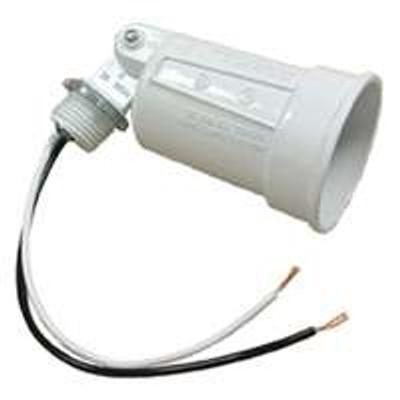 Outdoor Lamp Holder White