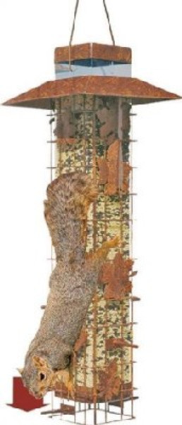 Squirrel-Be-Gone Bird Feeder, 3.4 lb Capacity