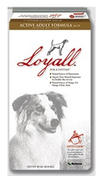 Loyall Active Adult Dog Food, 40 Lb