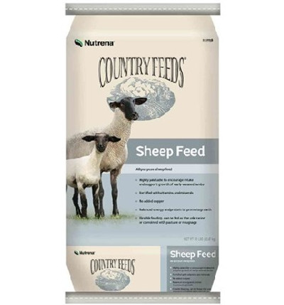 Country Feeds Lamb & Sheep Pellets, 16%, 50 Lb