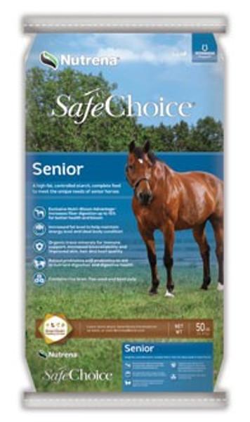 SafeChoice Senior Horse Feed, 50 Lb