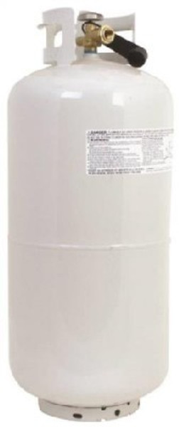 Propane Cylinder,  40 Lb, Steel