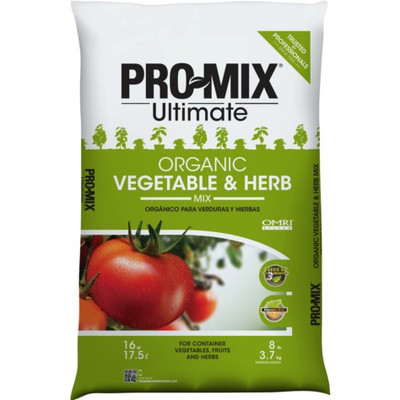 Pro Mix Organic Vegetable/Herb Soil, 2 Cu Ft