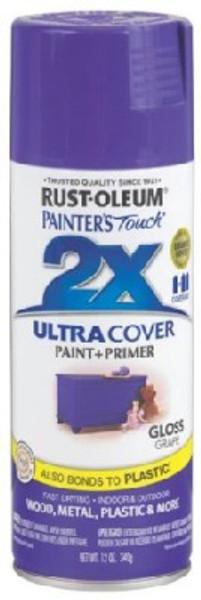 Rust-Oleum, Spray Paint, Grape, 12 Oz, Gloss