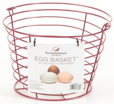Egg Basket, Holds Up To 3 Dozen Eggs, Red