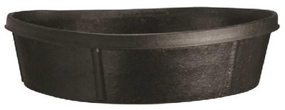 Rubber Feeder Pan,  3 Gallon