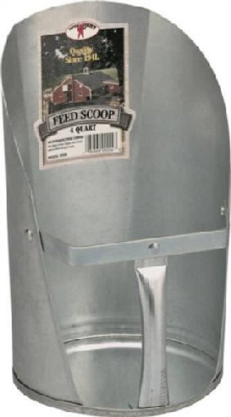 Feed Scoop 4 Quart HD Metal