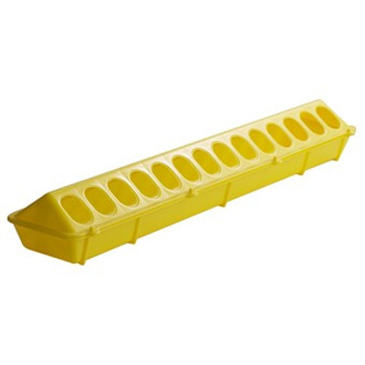 "Poultry Ground Feeder, 20"" Yellow"