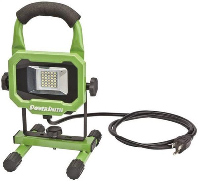 LED, Work Light, 1,400 Lumens, 120VAC