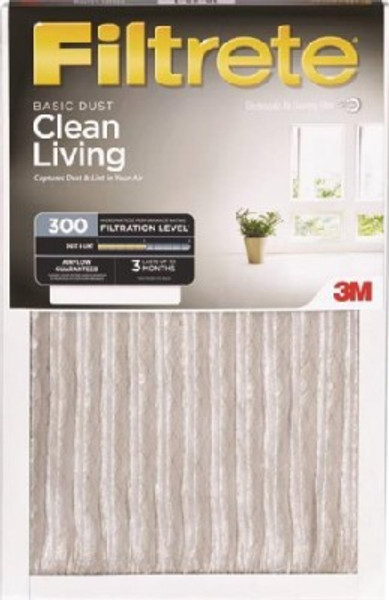 "Pleated Hi-Efficiency Air Filter, 20"" x 30"" x 1"""