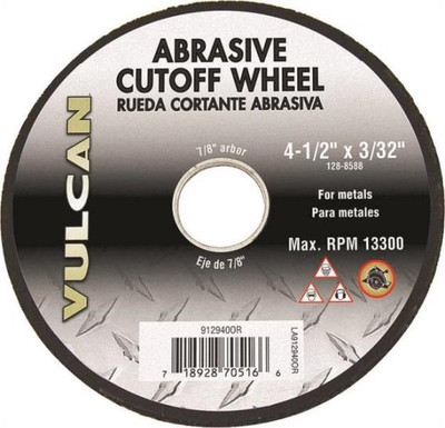 "Metal Cut-Off Wheel, 4-1/2"" x 3/32"", 7/8"" Arbor"
