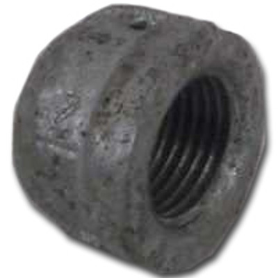 "Black Pipe Fittings, 1"", Cap"