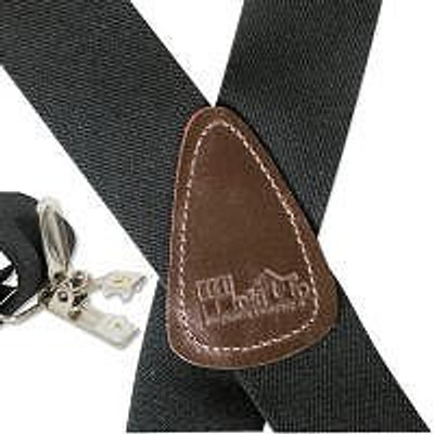 """Hold Up Contractor Series, 2"""" Wide, GRAPHIC BLACK, Silver Clip"""