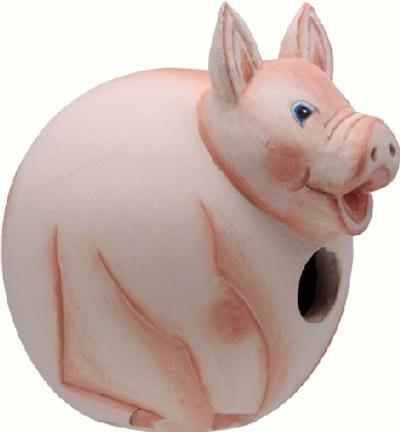 Songbird Gord-O-Birdhouse Pig