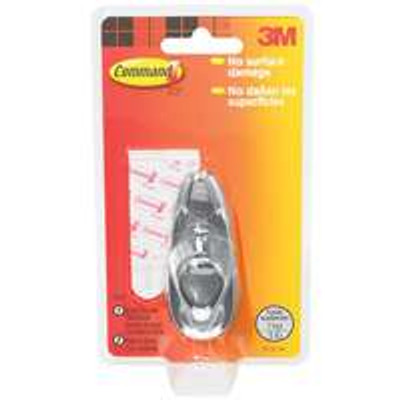 3M Command, Chrome Medium Adhesive Hook