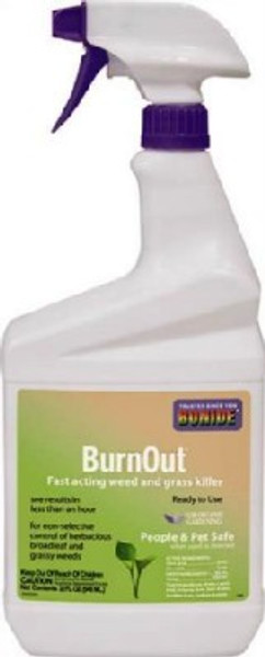 Bonide, Burn out Grass & Weed Killer, Ready To Use Spray, Quart