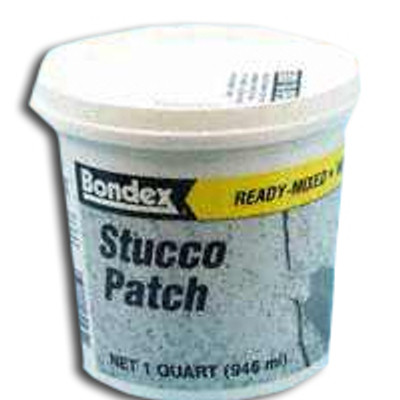 Bondex, Stucco Patch, Quart, Ready Mix