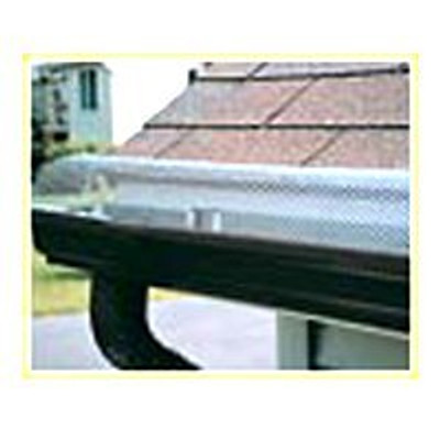 "Hinged Gutter Guard, Hinged, Aluminum Mill Finish, 6"" X 36"""