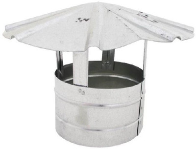 """Stove Pipe, Galvanized Roof Cap 7"""""""