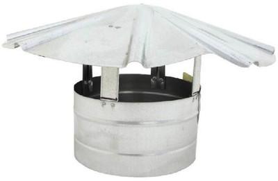 """Stove Pipe, Galvanized Roof Cap 8"""""""