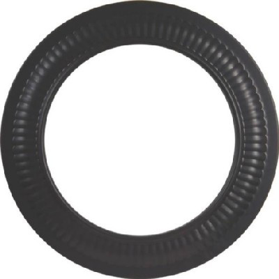 "Stove Pipe, Black, 8"", Collar"