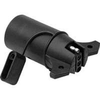 Trailer Light Adapter, 7 Pin To 4 Pin Flat