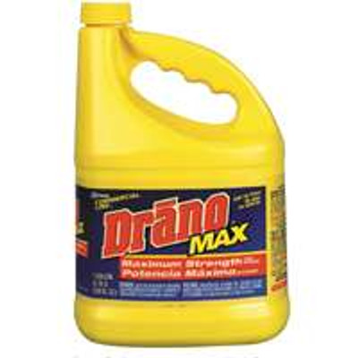 Drano Max Gel, 128 Oz