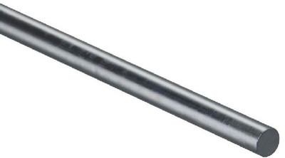 "Steel, Rod, 1/4"" X 36"", Hot Rolled, Weldable"
