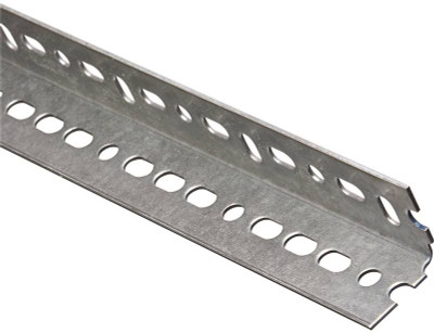 "Steel Angle With Slots, 1-1/2"" x 72"", 14Ga"