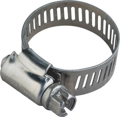 """Hose Clamp SS, # 104, 6-1/8"""" - 7"""", With Carbon Screw"""