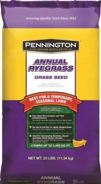 Annual Rye Grass Seed, 25 Lb