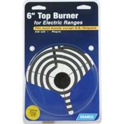 "Electric Range, Top Burner 6""  4 Turns"