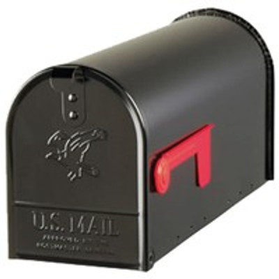 Rural Mailbox Black