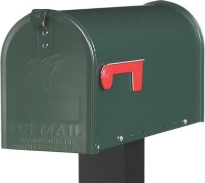 Rural Mailbox, Green