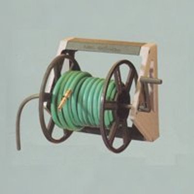 "Hose Reel, Wall Mounted, 16"" x 12-1/2"", Poly"