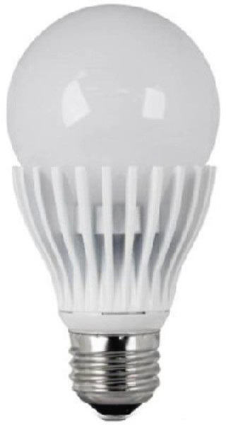 LED, A19, 800 Lumens, 9.5 Watts, Dimmable