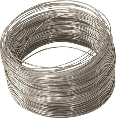 Wire, 28 Ga, Solid Galvanized, 100'