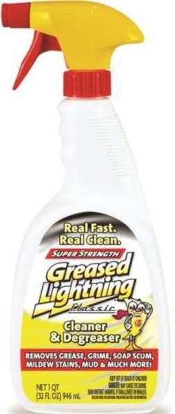 Greased Lightning, Cleaner & Degreaser, 32 Oz Spray