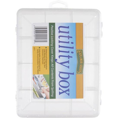Fishing/Utility Box W/ 9 Compartments