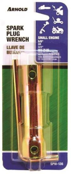 """Spark Plug Wrench For 5/8"""" & 3/4"""" Plugs"""