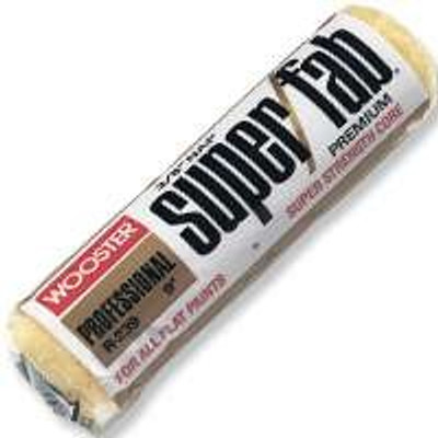 """Wooster """"Super Fab"""" 9"""" x 1/2"""" Nap, Paint Roller Cover"""