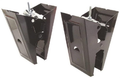 Sawhorse Brackets, Heavy Duty, 1 Pair, 500 Lb Load