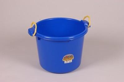 Muck Tub, 70 Quart, Blue